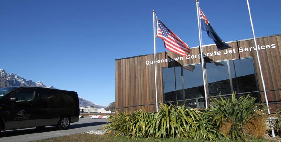 Queenstown Corporate Jet Terminal Building